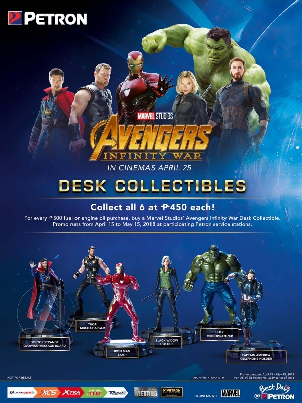 Petron Avengers Collectibles 2018
