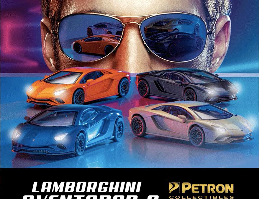 Petron Lamborghini Aventador S Collectibles Promo