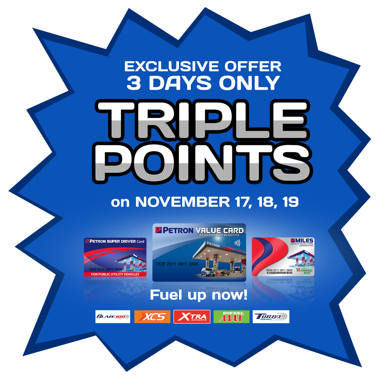 Triple Your Regular Points Promo