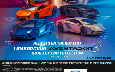 Petron Lamborghini Aventador S Toy Collection Series