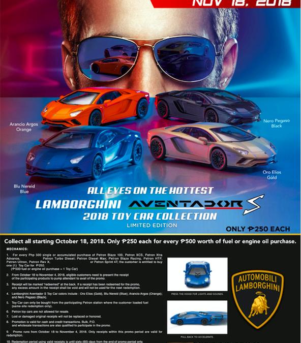 Petron Lamborghini Aventador S Toy Collection Series