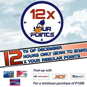 12x Your Regular Points Promo
