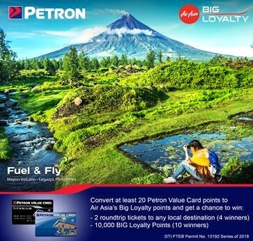 Air Asia Fuel Your Life Promo