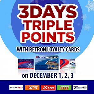 3-Days Triple Points Promo