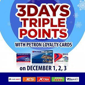 3-Days Triple Points Promo