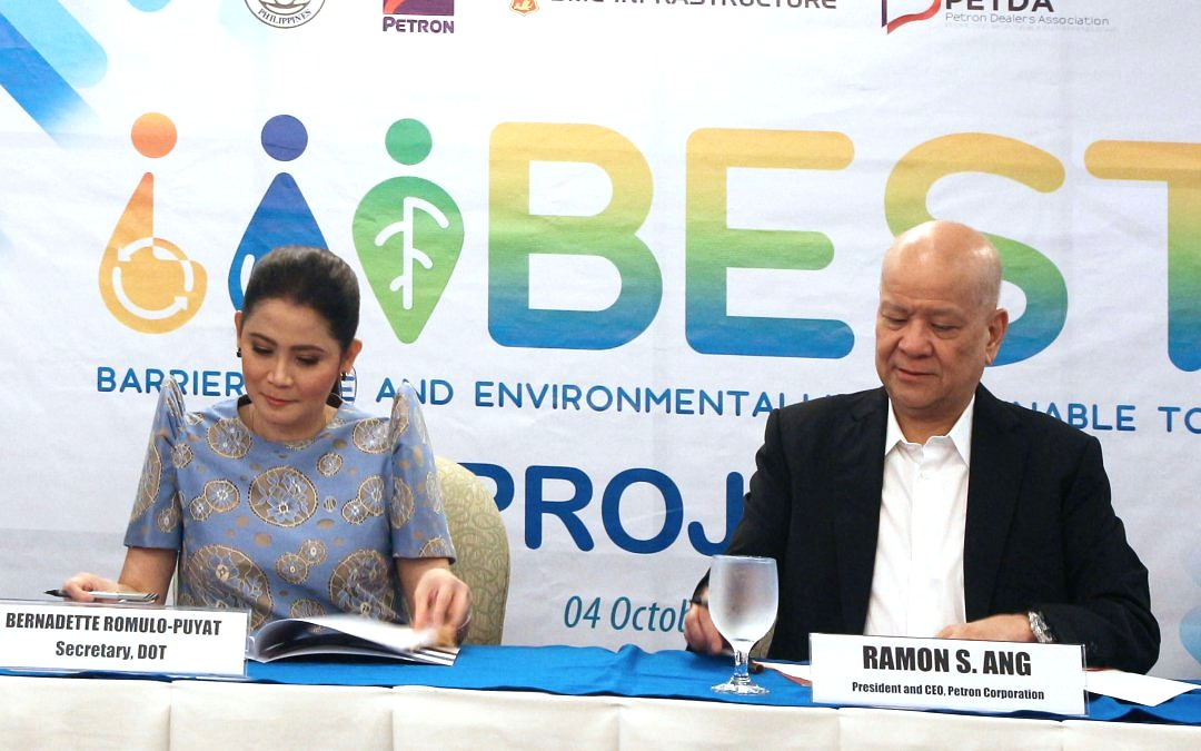 DOT, Petron Ink Deal on Clean, Sustainable Toilets Nationwide