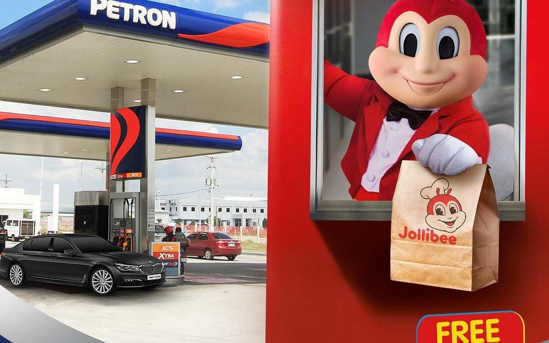 Petron-Jollibee Drive For Joy Promo
