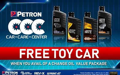 Petron CCC Free Toy Car
