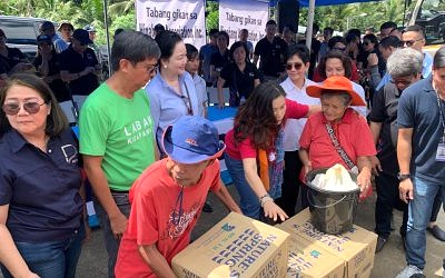 Petron dealers join hands to help Mindanao quake victims