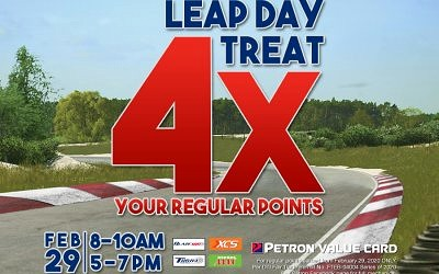 LEAP DAY TREAT PROMO (4X Your Regular Points)