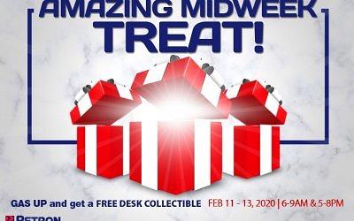 Amazing Midweek Treat (Feb. 11-13, 2020)