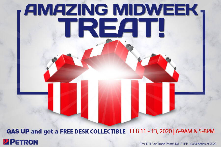 Amazing Midweek Treat (Feb. 11-13, 2020)