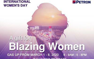 Blazing Women Promo (Mar. 1-8, 2020)