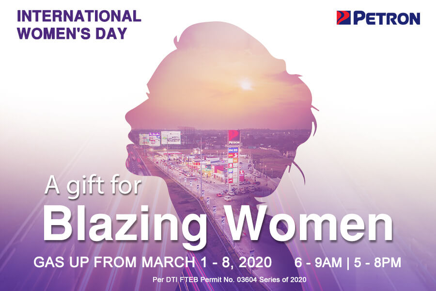 Blazing Women Promo (Mar. 1-8, 2020)