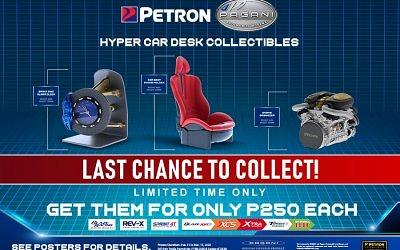 Petron Pagani Hyper Car Desk Collectible Promo (Feb. 15-Mar. 15, 2020)