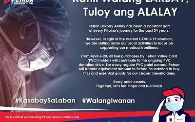 Kahit Walang Lakbay, Tuloy ang Alalay (April 6-20, 2020)