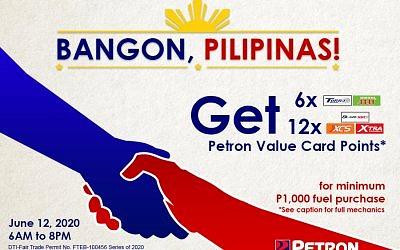 Bangon Pilipinas – Independence Day Promo (June 12, 2020)