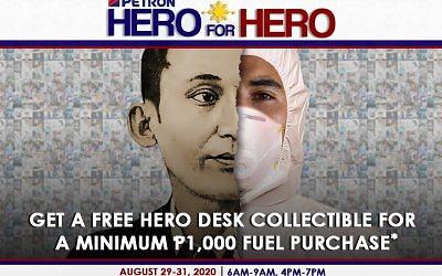 Hero for Hero Promo (August 29 to 31, 2020)
