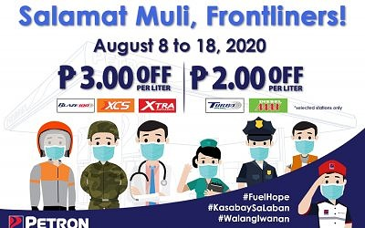 Salamat Muli, Frontliners (August 8 – August 18, 2020)