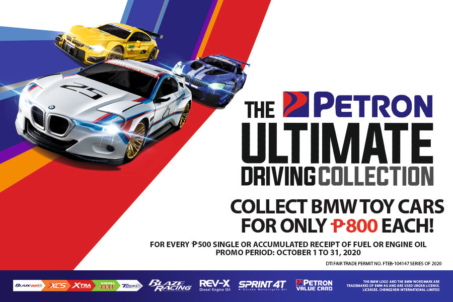 [EXTENDED] Petron Ultimate Driving Collection (October 1 to November 15, 2020)