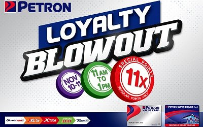 11.11 Loyalty Blowout (November 10 to 11, 2020)
