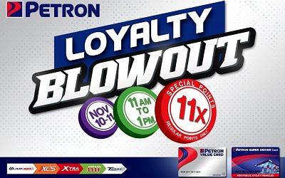 11.11 Loyalty Blowout (November 10 to 11, 2020)
