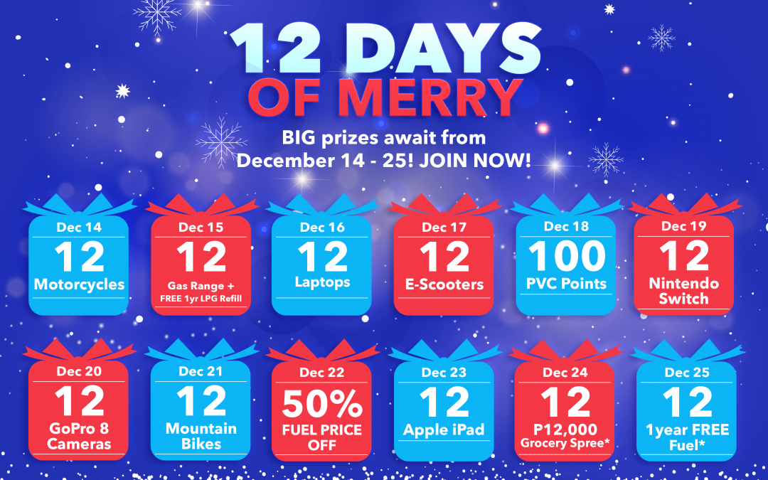 12 Days of Merry (December 14 to 25, 2020)