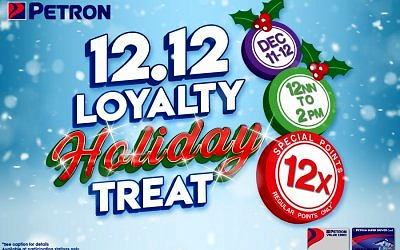 12.12 Loyalty Holiday Treat (December 11 to 12, 2020)