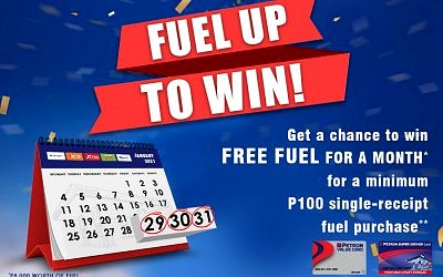 Fuel Up to Win! (January 29 to 31, 2021)