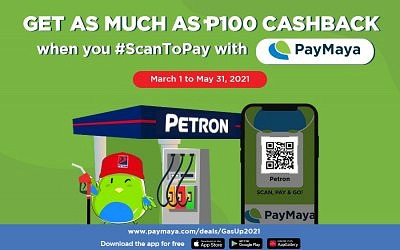 Move with PayMaya Promo (March 1-May 31, 2021)