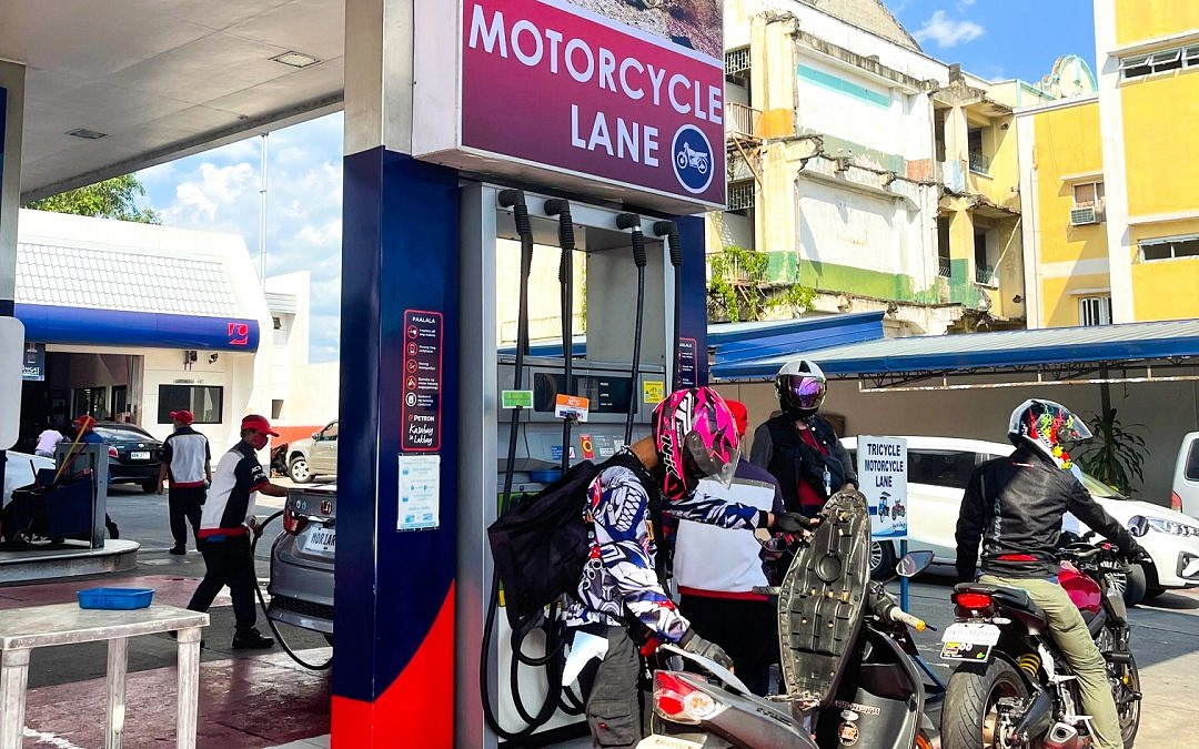 Petron Stations launch exclusive motorcycle lanes