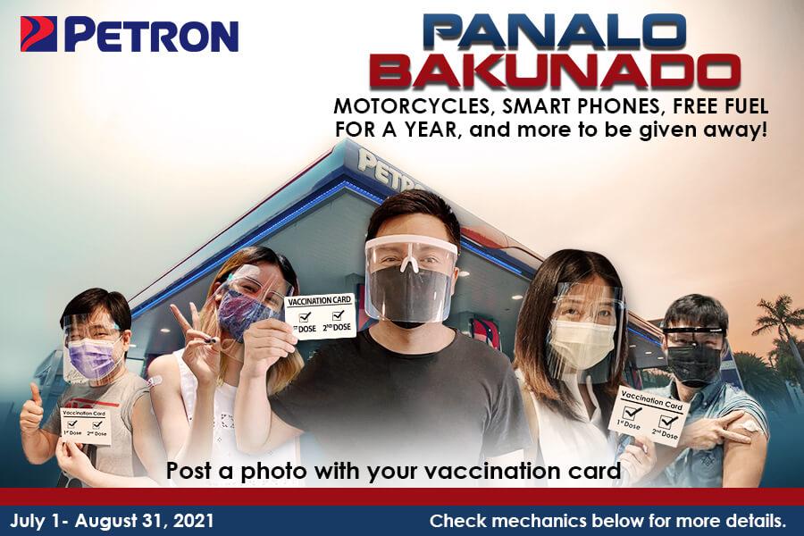 With PETRON, Panalo Bakunado!