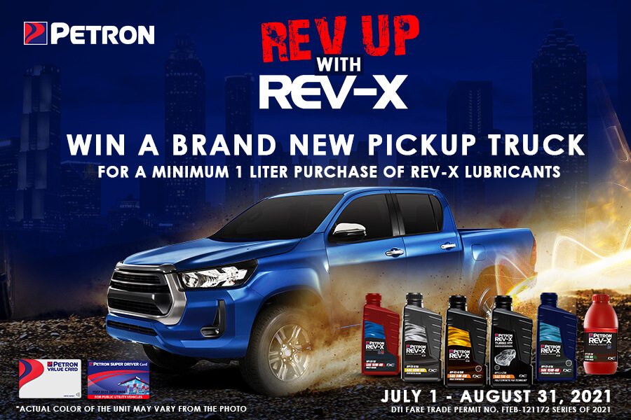 Rev Up with Rev-X (July 1 to August 31, 2021)