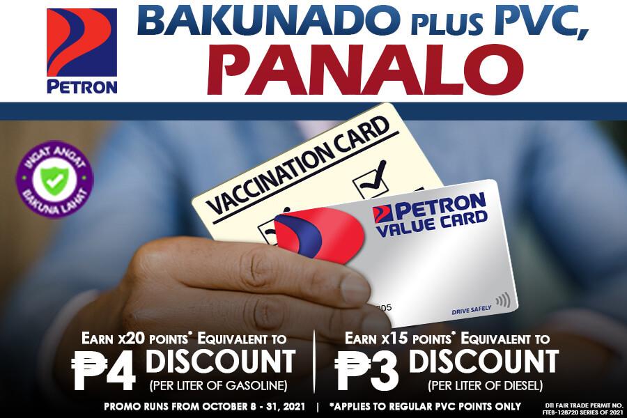 Panalo Bakunado 3 (October 8 to 31, 2021)